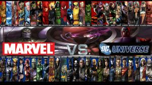 MARVEL VS DC UNIVERSE - Fan Concept by Soul-Blade22