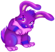 Request ~Purple Rabbit by iPhenixia