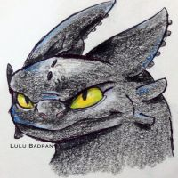 Toothless by LuluBadran