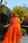 flame princess cosplay COMPLET by devillemon