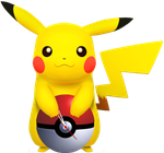 Desktop Gadget Clock Pokemon Pikachu *Interactive* by ProfessorAdagio