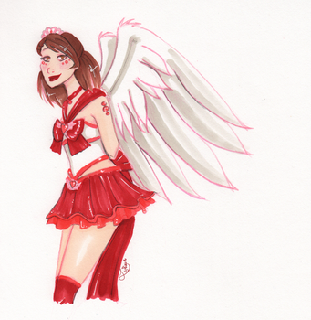 CAotM: Winged Cutie by LeyRose