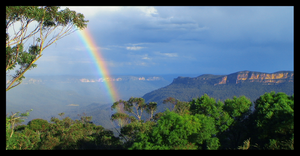 The Blue Mountains I by Rotae