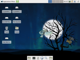 Lysandra Linux 11.09.14 by foxhead128
