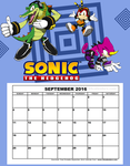 Sonic-September by xgirl109