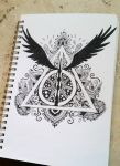 Deathly Hallows by Stop-wasting-time