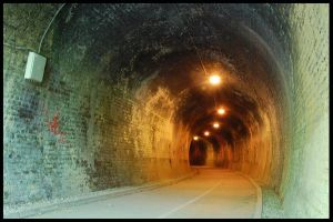 Disused Railway Tunnel V by pet-rubber-duck