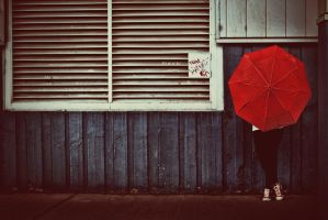 red umbrella by stevenfields