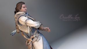 Connor Assassin's Creed 3 Pose by BriellaLove