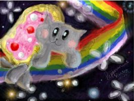 NYAN CAT by KeyboardingChihuahua