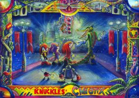Knuckles Chaotix 20th Anniversary by Liris-san
