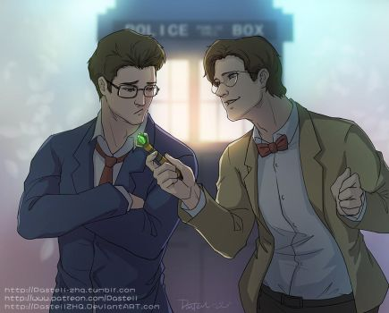 10th and 11th Doctor _ Do U Like My Screwdriver by pastellZHQ