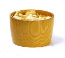 Ash bowl with shavings by devibobas