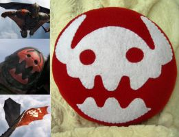 HTTYD2 Pillow Plush by P-isfor-Plushes