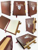Pinocchio Journal by BCcreativity