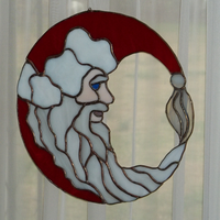 Santa glass frontlit by Richard67915