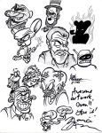 Maurice LaMarche Tribute (and Autograph) by Lotusbandicoot