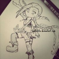 Chibi Jinx by xgalletita