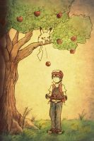 Apple Tree by The-Blue-Wind