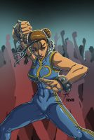 Foorays Chun Lee by RSB13