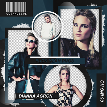 Pack Png 86: Dianna Agron. by Oceandeeps