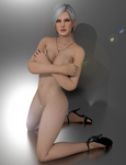 Centrefold Collection - Christie by Experimental-Evil