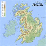 Shires of Greater Arthuria by Antrodemus