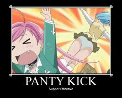 Opinion Rosario vampire showing their panties with
