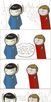 101 Ways to Make a Vulcan Laugh: 013 by TheVeggieSalad
