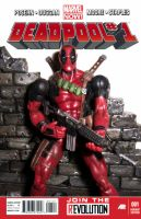 Deadpool #1 by PsychosisEvermore