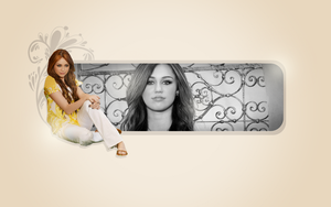 Miley Cyrus - Wallpaper 030 by r-adiant