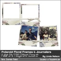 Vintage Polaroid Double Framed Jouralers by pixelberrypie