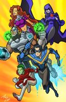 The Titans by phil-cho