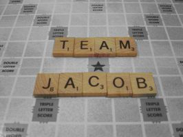 Scrabble - Team Jacob by thatgirlanalise