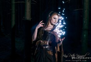 Sorceress III by TatharielCreations