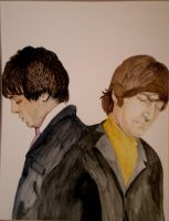 Lennon and McCartney by rori77