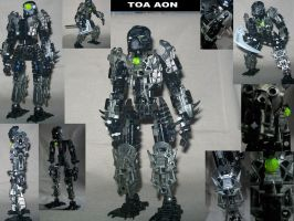 Bionicle MOC- Toa Aon by StarBugs97