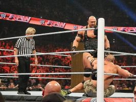 Ryback vs. John Cena by edgefan-talon