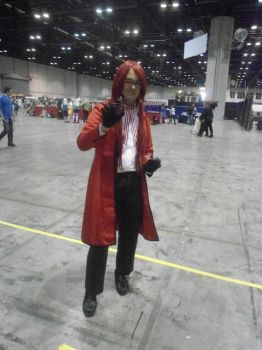 Grell at Megacon by CelecstialSage