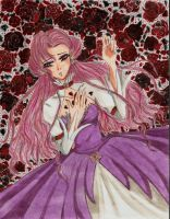 On Her Death Bed by damselle-xo