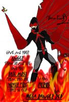 Nega Ranger Red by Twin-Divinity
