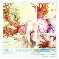 :Triumph Artbook: The Seasons Maiden by Doria-Plume