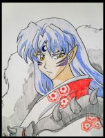 sesshomaru by Erikagieseke