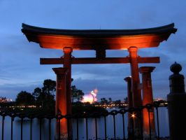 Epcot Japan Stock 7 by AreteStock