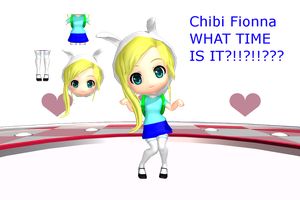 MMD MOTHME CHIBI FIONNA by 2234083174