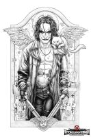The Crow: Hammer Party by PsychoSlaughterman