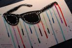 Daily Drawing #1 - Casey Neistat Sunglasses [Vlog] by ImportAutumn