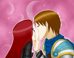 LoL- Surprise Kiss by lauriitaxuly