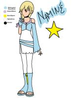 Namine KH3 Design by PrincessPoutee