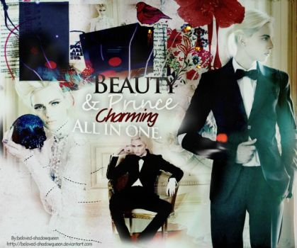 Beauty and  Prince Charming by Beloved-shadowqueen